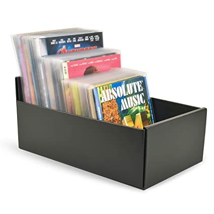 Archivador caja para DVD, CD y Blu-ray