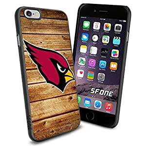 Arizona Cardinals Team Wood Logo iPhone 6 Cool Case Cover Protector