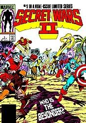 Secret Wars II Omnibus HC McGuinness Cover