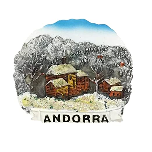 Andorra resina 3d fuerte imán para nevera recuerdo turista regalo ...