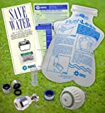 Kitchen & Bathroom Water Saving Eco-Kit, faucet, toilet, shower head water conservation