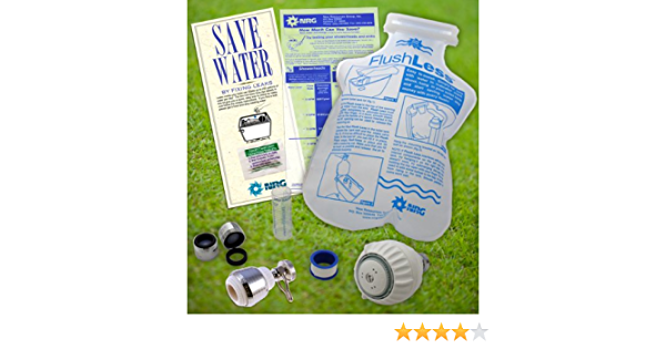 Kitchen Bathroom Water Saving Eco Kit Faucet Toilet Shower Head Water Conservation Faucet Parts And Attachments Amazon Com
