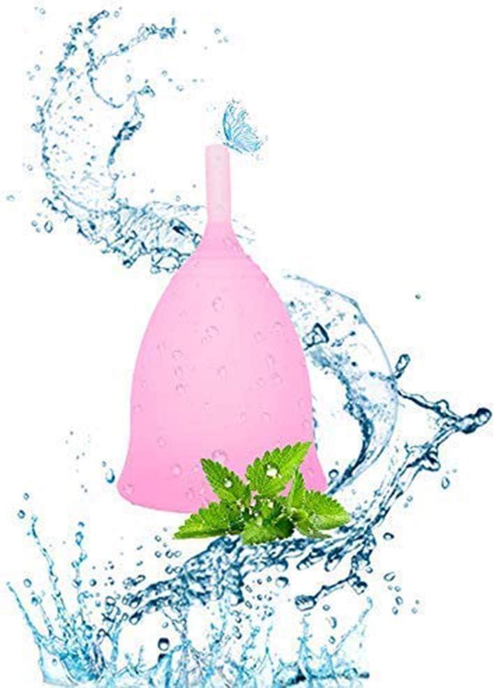 SPEQUIX Copa menstrual de silicona reutilizable de grado ...