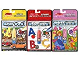 Melissa & Doug On The Go Water Wow Bundle: Alphabet, Vehicle, Fairy Tale