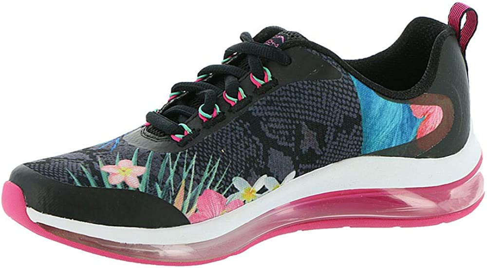 Skechers Women's Skech-air Element 2.0-Flower Sneaker Black/Multi