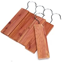 Wahdawn Cedar Moth Balls and Cedar Blocks for Closet Clothes Storage Moth Repellent Mold Mildew Protection, 25 Pack