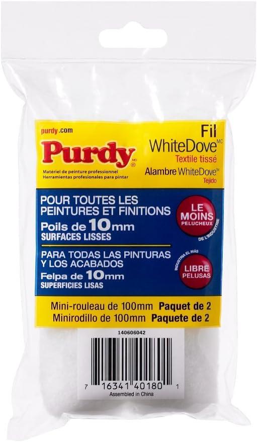 10,2/cm Purdy 140606042/Blanc Dove pour rouleau