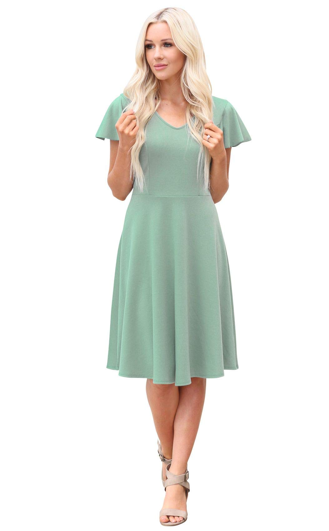 Image result for dusty mint gown