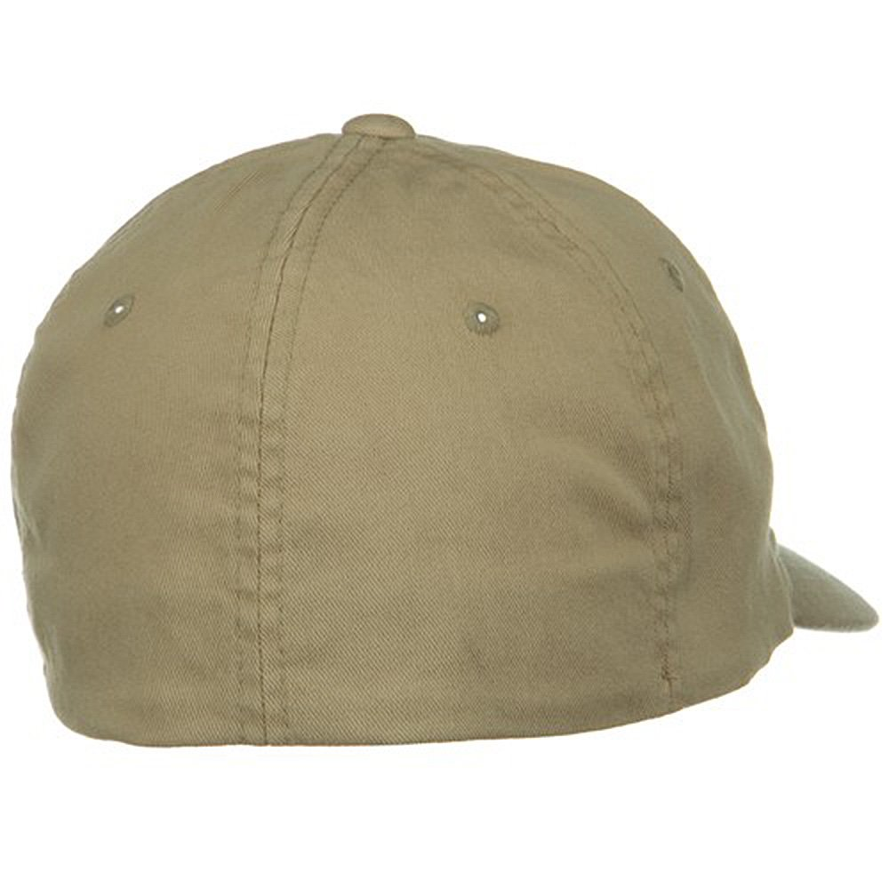 0e681aaf2d4c2 Flexfit Garment Washed XXL Large Cap - Khaki W06S36F  Amazon.in  Clothing    Accessories