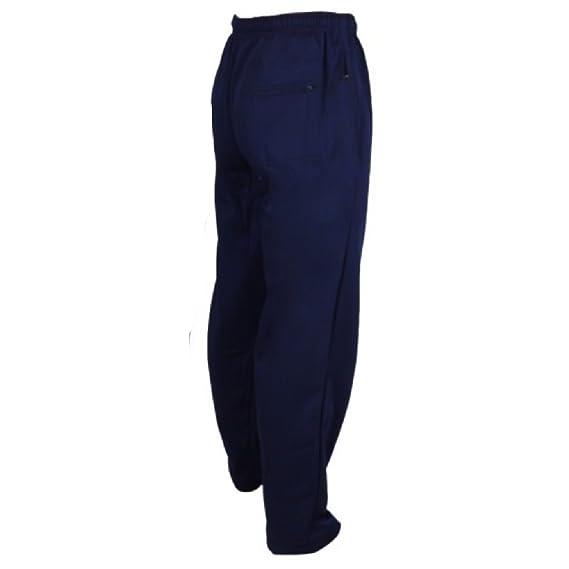 Para hombre, Pantalones de deporte tipo Chándal Azul azul marino ...