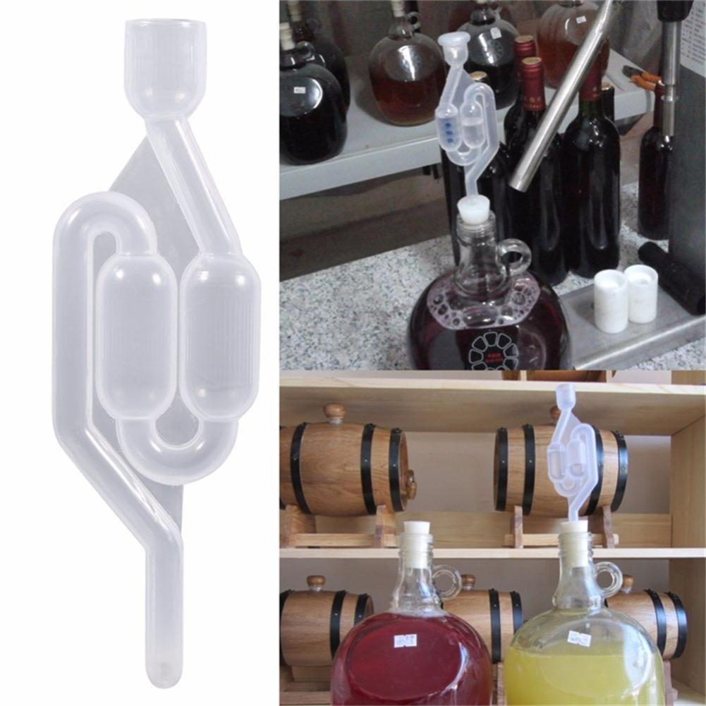 2 SAS PCS pour la Fermentation Dadahuam Bubble Airlock clapet Anti-Retour Brew oeillet Airlock de leau de Bulle en Forme de S emp/êchez loxydation