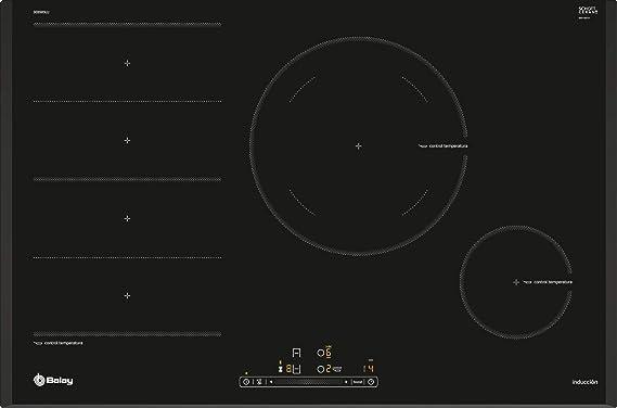 Balay 3EB989LU Placa de inducción de 80 cm de ancho ...