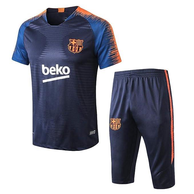18-19 Barcelona Jerseys Fútbol Manga Corta Pantalones de ...