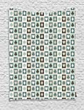 Ambesonne Casino Decorations Tapestry Wall Hanging, Card Suits, Hearts, Spades, Diamonds, Clubs Pattern Gaming Houses Addiction, Bedroom Living Room Dorm Decor, 60 W x 80 L inches