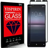 YISPIRIN Screen Protector voor Sony Xperia 1 II, [2 Pack] [Anti Vingerafdrukken] [9H Hardheid] [Case Friendly] [3D…