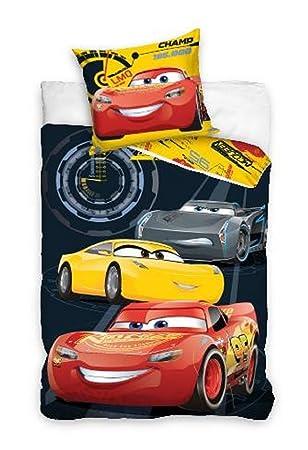 Cars 3 Disney Bettwäsche 140 X 200 100 Baumwolle Kinderbettwäsche Set Passt 135x200