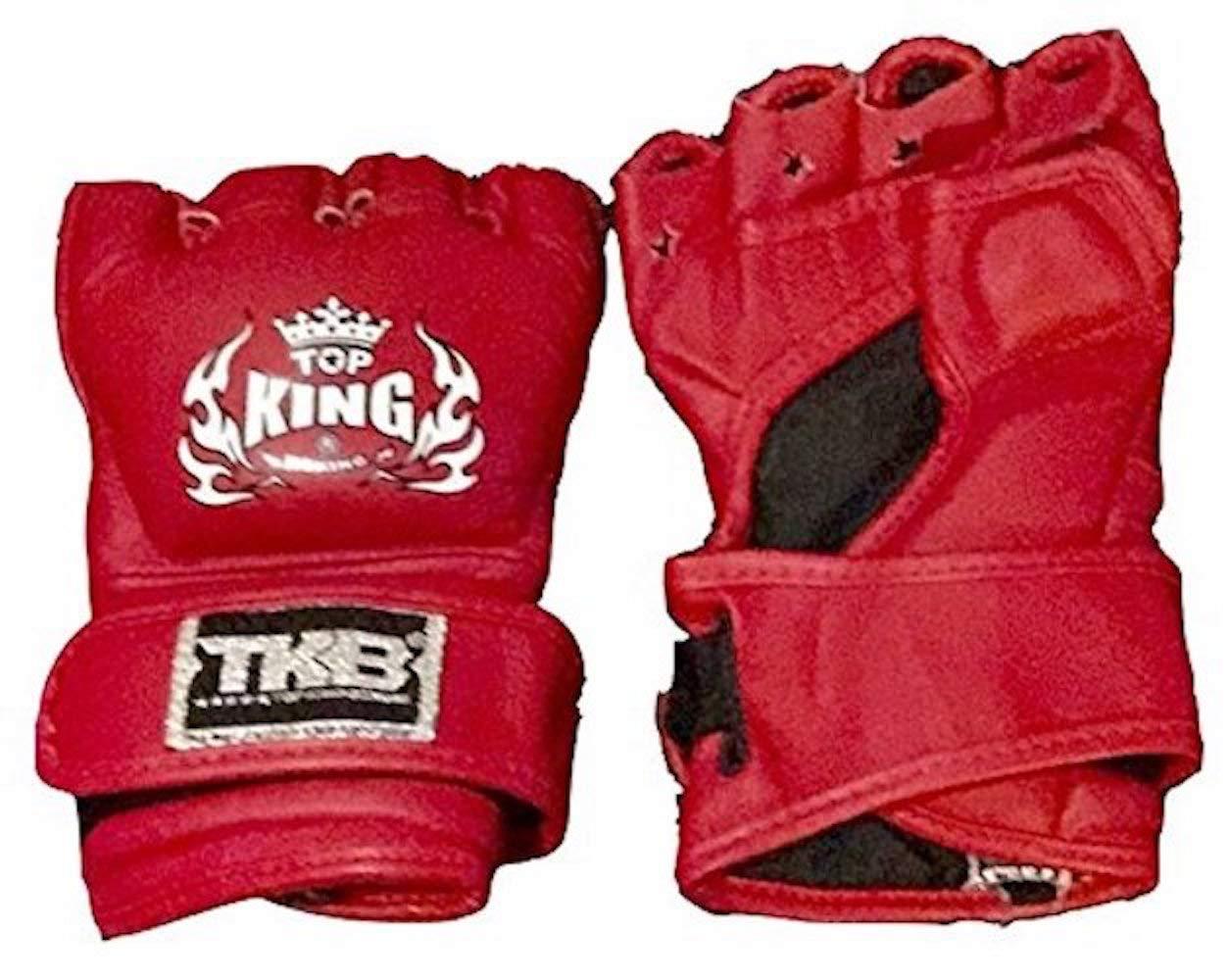Top King 'Gants de lutte' Ultimate '– Tkggu-333–Rouge
