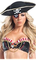 Be Wicked Women's Pirate Hat