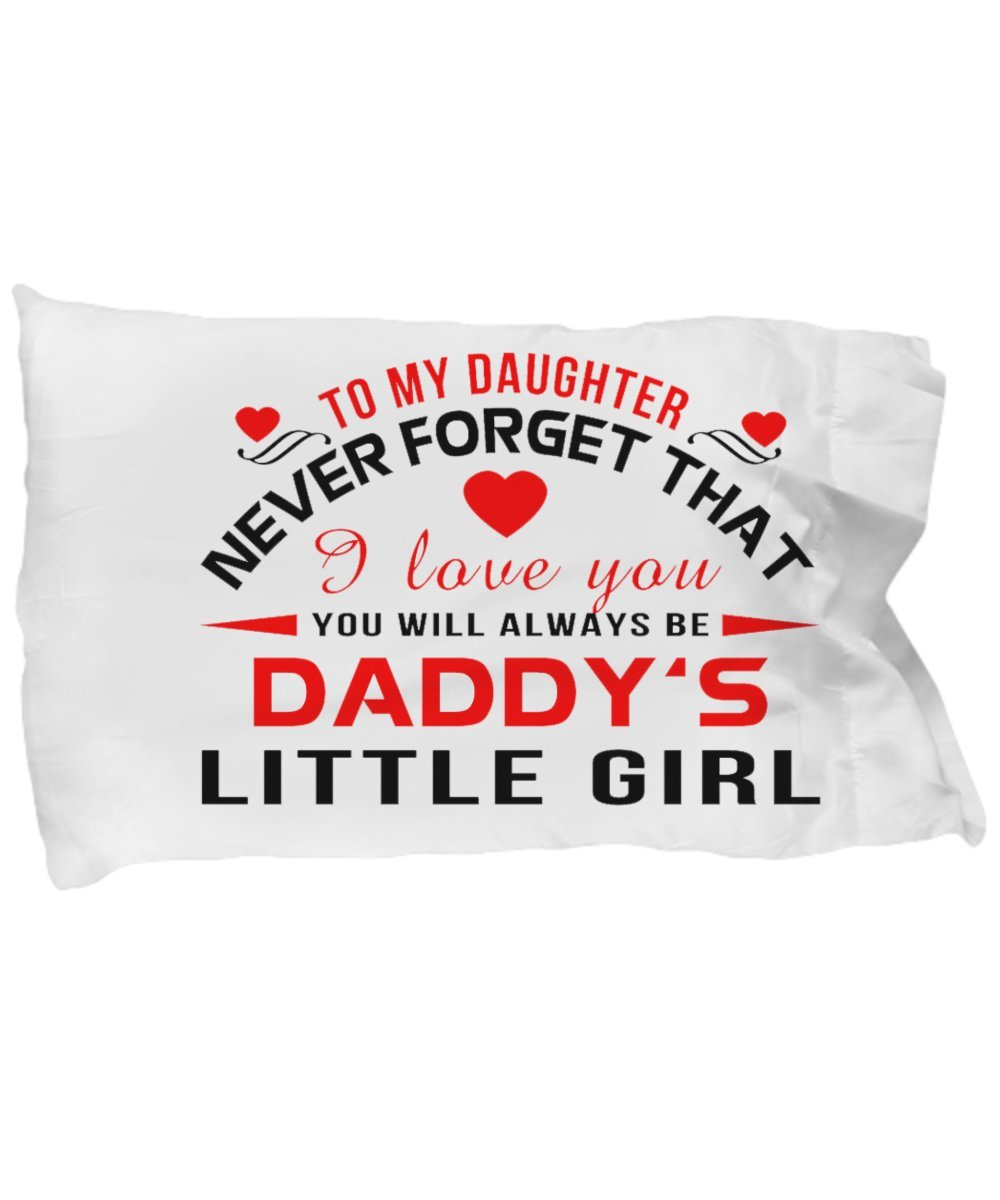 Amazon com: Head Master Cups to My Daughter - Pillow, Pillow