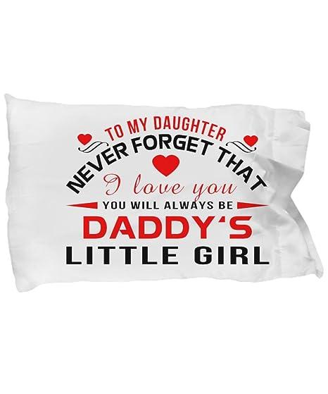 Amazon.com: Para Mi Hija – Almohada, fundas de almohada de ...