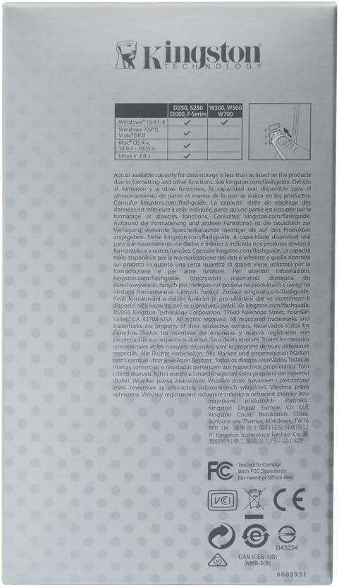 Kingston IronKey Basic S1000 Encrypted Flash Drive IKS1000B//4GB