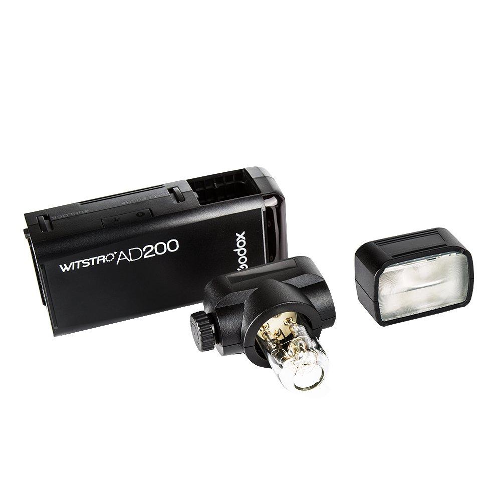 Godox AD200 TTL 2.4G HSS 1/8000s Pocket Flash Light Double Head 200Ws with 2900mAh Lithium Battery Flashlight Out Door Flash by Godox (Image #3)