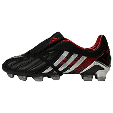 cheap for discount 078a8 400c8 ... order adidas predator powerswerve trx fg champions league soccer shoes  black metallic silver red f0790 4986a