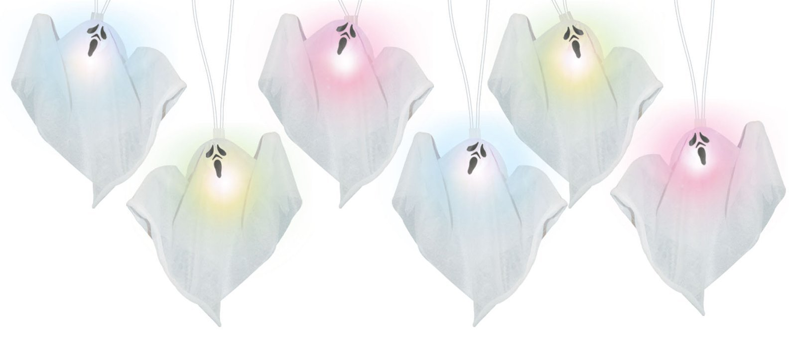 Color Changing Ghost String Lights