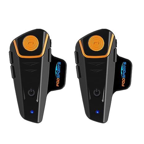 Amazon.com: Fodsports BT-S2 1000M - Sistema de comunicación ...