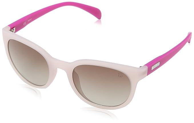 Tous Damen Sonnenbrille STO913-500U28, Schwarz (Semi/Matt Black), 50