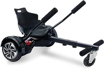 Asiento adaptable para HOVERBOARD ajustable de 6,5 a 10 pulgadas de las ruedas - Negro: Amazon.es: Deportes y aire libre