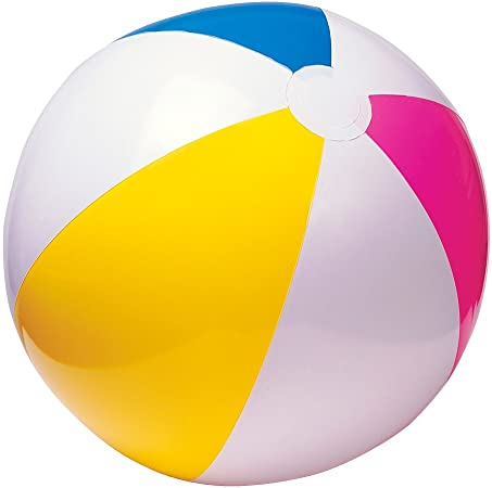 Inflatable Blowup PANEL BEACH BALLS Holiday Party Swimming Garden Toy Ball UK