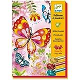 Djeco 599386031 - Cuadros purpurina mariposas