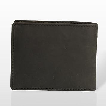 Marc Picard hechas a mano Exclusivo Hombres Piel Monedero tarjeta monedero cartera monedero Tarjetas Funda Wallet - Vintage Piel de ternero Longitud: 12 cm ...