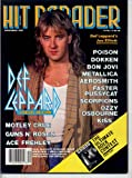 Hit Parader Magazine DEF LEPPARD Bon Jovi WHITESNAKE Motley Crue TOM KEIFER Japanese Metal GUNS N' ROSES December 1987 C (Hit Parader Magazine)