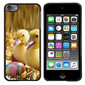Jordan Colourful Shop - Happy Ducklings For Apple iPod Touch 6 6th Generation Personalizado negro cubierta de la caja de pl????stico