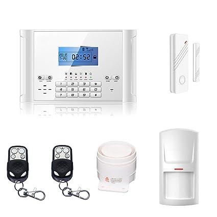 abto gsm – Alarma con Mando a Distancia, Alarma de Puerta y Detector de Movimiento