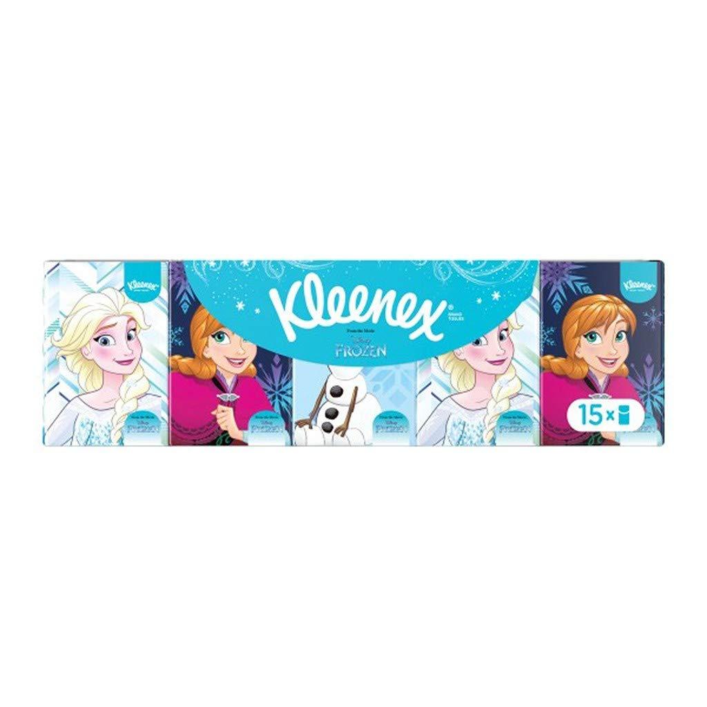 lot de 6 Kleenex Disney par 15 /Étuis de Mouchoirs