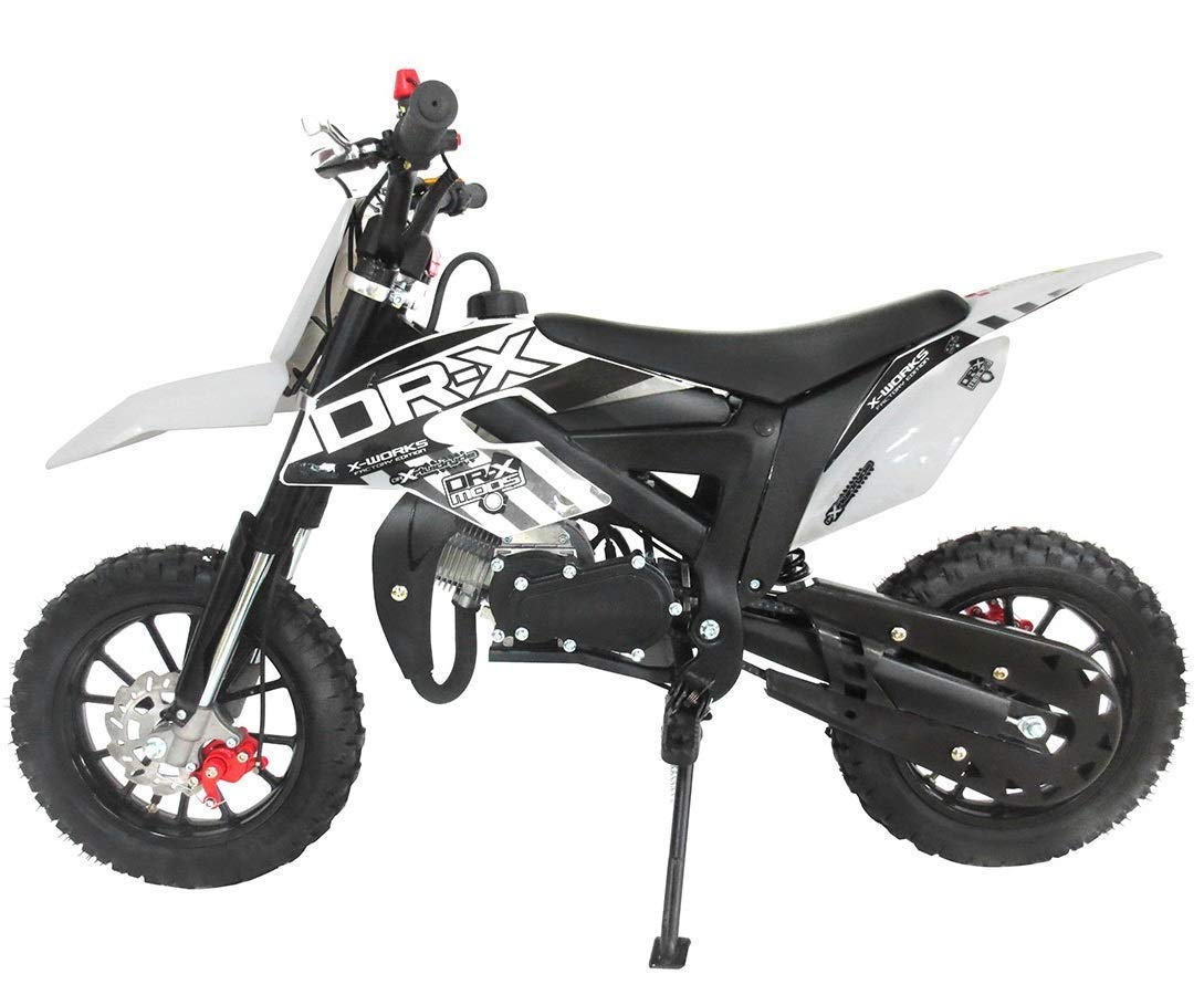 Amazon.com: DR-X - Mini moto de gas de 50 cc para niños, con ...