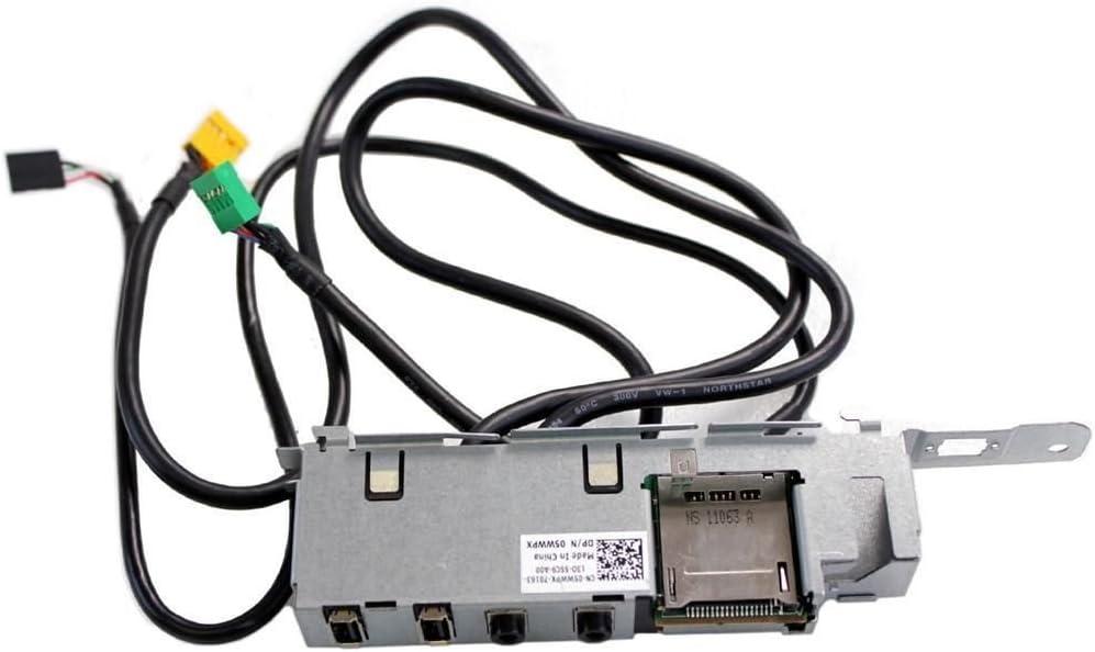 Dell Vostro 260 Power Button USB Audio SD Card Panel 5WWPX