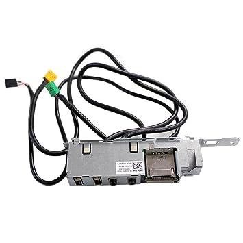 amazon dell vostro 260 power button usb audio sd card panel Micro USB microSD Card image unavailable