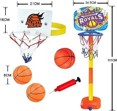 Forart Mini Basketball Hoop con balón Juego de baloncesto Soporte ...