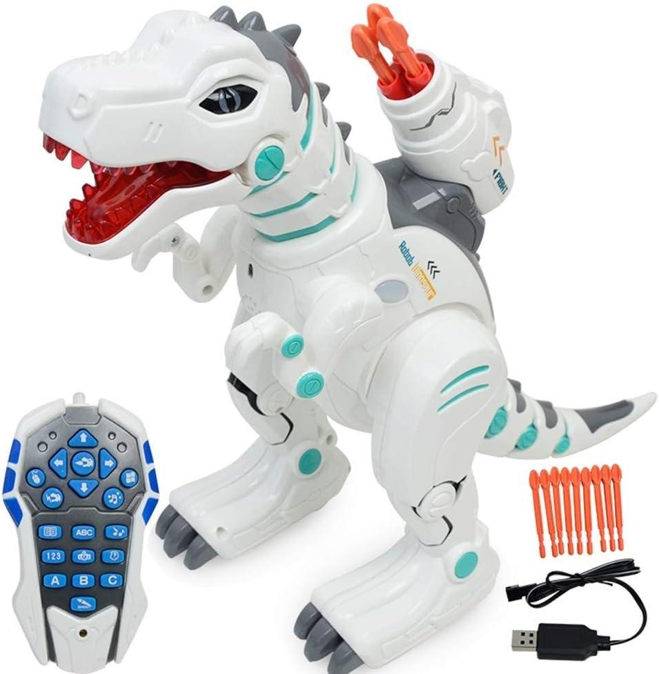 Wesxm Control Remoto multifunción Dinosaur Robot Robot Interactivo ...