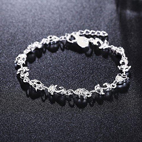 fashion-bangle-chain-bracelet-lady-new-jewelry-925-silver-crystal-cuff-charm-fox