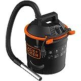 Black & Decker 51585 - Aspiracenere, 900 W, con serbatoio da 18 litri, acciaio inox con agitatore per la pulizia del filtro