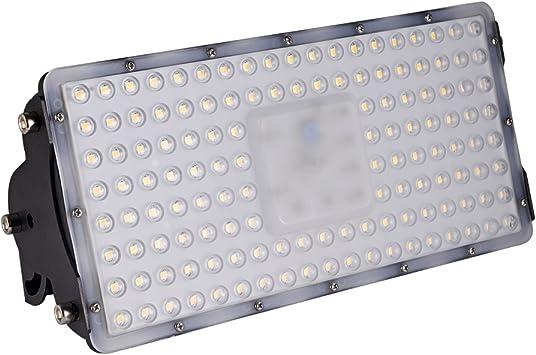 Viugreum Foco Módulo Super Brillante 100W,Focos LED Exterior Impermeable IP65, Reflector Lámpara para Exterior/Interior/Jardín/Patio, SMD2835 3200K Blanco Cálido: Amazon.es: Iluminación