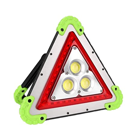 Roadway Safety Road Traffic Usb Charging Directional Energy Saving Warning Light Outdoor Hunting Safety Cob Led Camping Multifunction Emergency