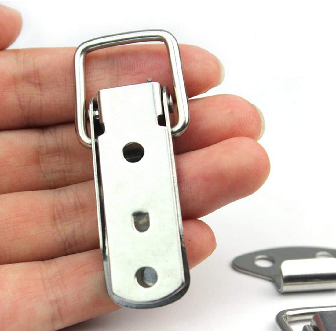 Armadietto in acciaio inox Scatola Scatola Attrezzi per Morsetti a clip per Chiusura Cassetto Armadio Repuhand 8 Pezzi Chiusure a Leva Fermaglio a Molla