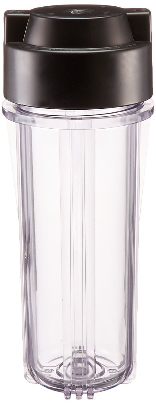 Hydrologic stealthRO Filter Housing with Black Cap, 3/8''