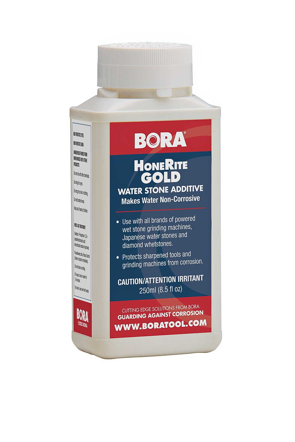 HoneRite Gold BORA STN-HRG250 250ml Honing Solution. The Grinding / Sharpening Additive That is Specifically Formulated to Make Water Non-Corrosive and help protect against Rust